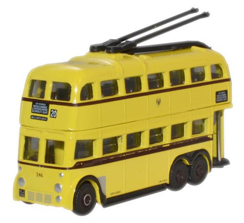 Oxford Diecast Bournemouth BUT Trolleybus - 1:148 Scale