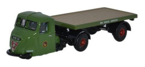 Oxford Diecast Scammell Scarab Flatbed BRS Parcels - 1:148 Scale
