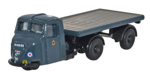 Oxford Diecast Scammell Scarab Flatbed Trailer RAF - 1:148 Scale