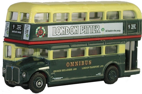 Oxford Diecast Shillibeer Routemaster Bus - 1:148 Scale