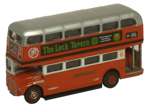 Oxford Diecast Golden Jub. Routemaster Bus - 1:148 Scale