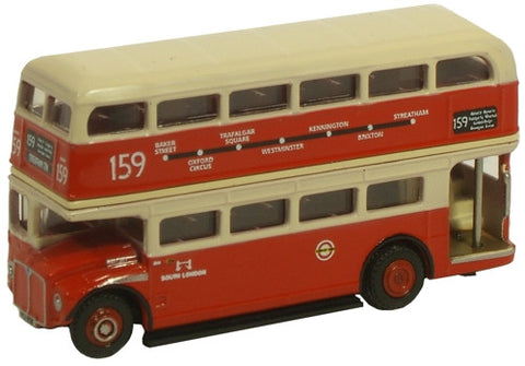 Oxford Diecast South London 159 Routemaster - 1:148 Scale