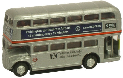 Oxford Diecast LT Silver Jubilee Routemaster - 1:148 Scale