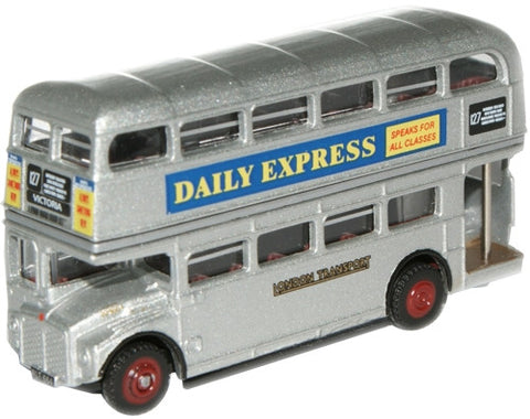 Oxford Diecast RM664 Silver Lady Routemaster - 1:148 Scale