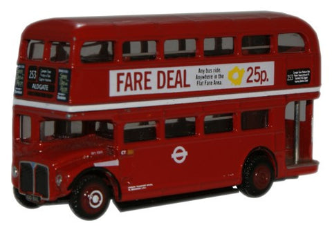 Oxford Diecast London Transport RM1000 (Roundel) Routemaster - 1:148 S