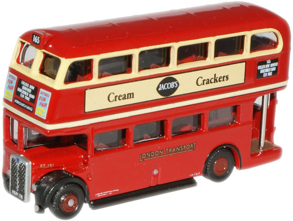 Oxford Diecast London Transport RT Bus (Roofbox) - 1:148 Scale