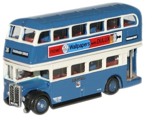 Oxford Diecast Bradford RT Bus - 1:148 Scale