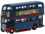 Oxford Diecast RT Bus Browns Blue