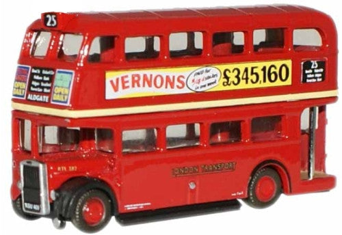 Oxford Diecast London Transport RTL Bus - 1:148 Scale