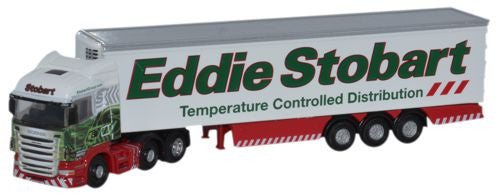 Oxford Diecast Scania Highline Fridge Eddie Stobart - 1:148 Scale