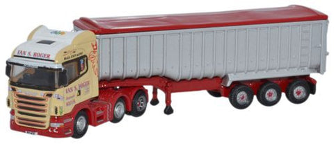 Oxford Diecast Scania Highline Tipper Ian S Roger - 1:148 Scale