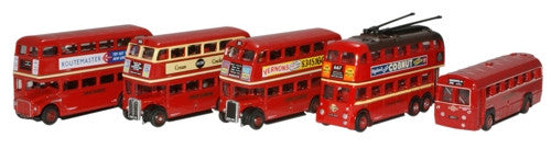 Oxford Diecast London Bus Collection - 1:148 Scale