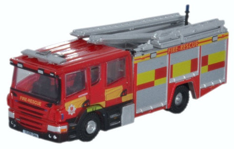 Oxford Diecast Scania Pump Essex County Fire and Rescue