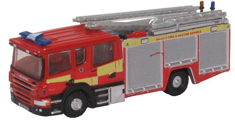 Oxford Diecast Scania Pump Ladder Surrey Fire & Rescue
