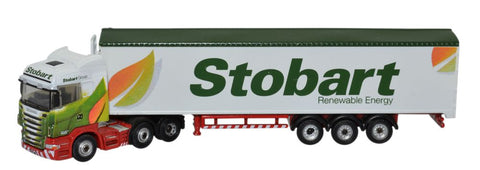 Oxford Diecast Scania Highline Walking Floor Stobart Biomass