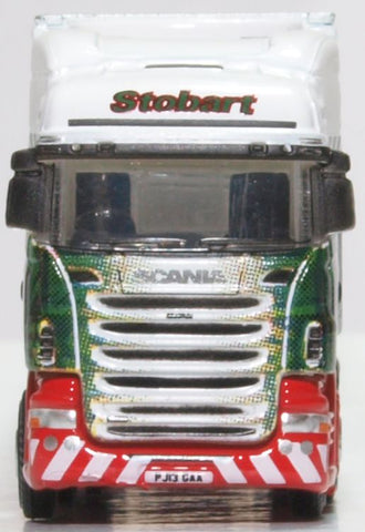 Oxford Diecast Scania Highline Fridge Trailer Steady Eddie