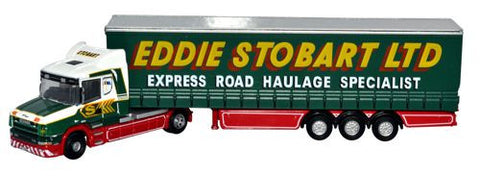 Oxford Diecast Scania T Cab Curtainside - Stobart - 1:148 Scale