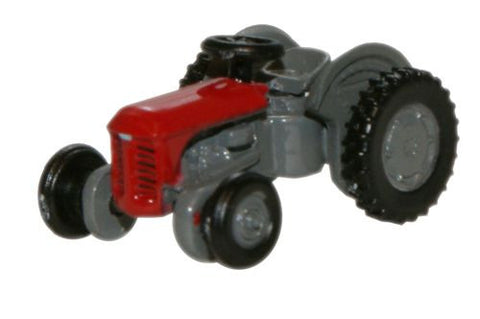 Oxford Diecast Red Ferguson Tractor - 1:148 Scale