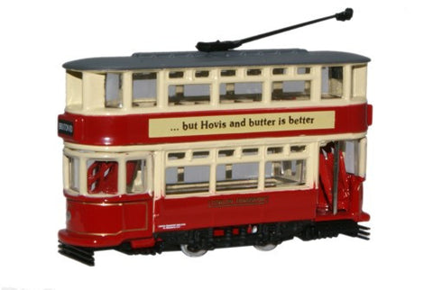 Oxford Diecast London Transport Tram - 1:148 Scale