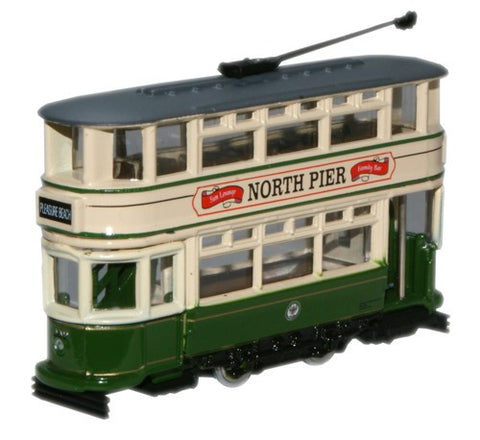 Oxford Diecast Blackpool Tram - 1:148 Scale