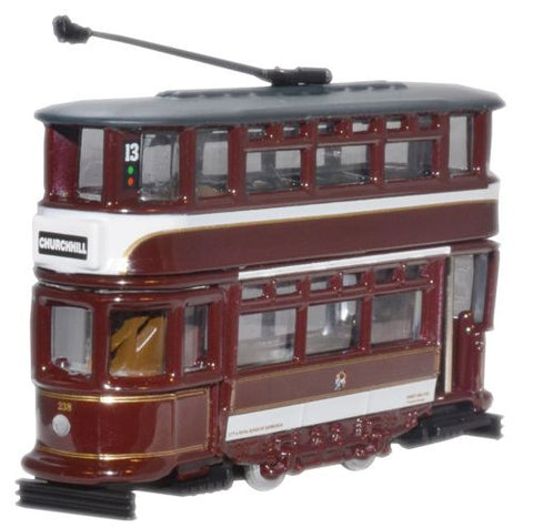 Oxford Diecast Edinburgh Tram - 1:148 Scale
