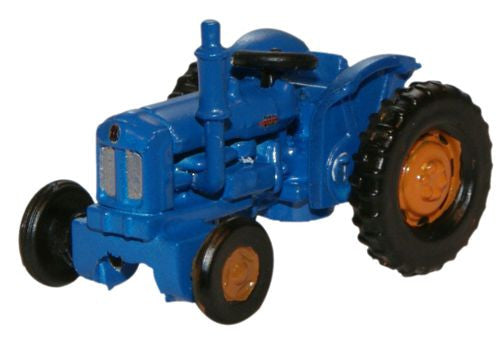 Oxford Diecast Blue Fordson Tractor - 1:148 Scale