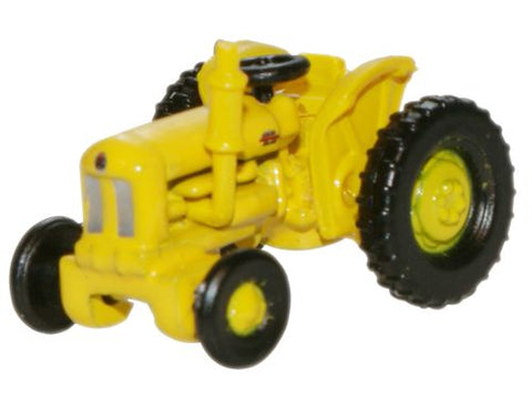 Oxford Diecast Fordson Tractor Yellow Highways Dept