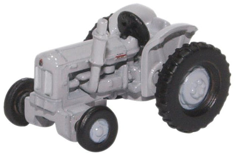 Oxford Diecast Fordson Tractor Matt Grey
