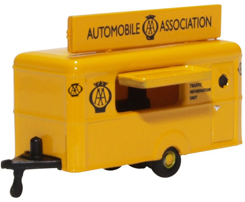 Oxford Diecast Mobile Trailer AA