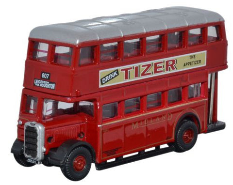 Oxford Diecast Guy Arab Utility Midland Red - Correct Colour - 1:148 S