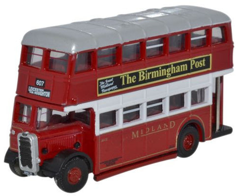 Oxford Diecast Guy Arab Utility Midland Red - wrong colour - 1:148 Sca
