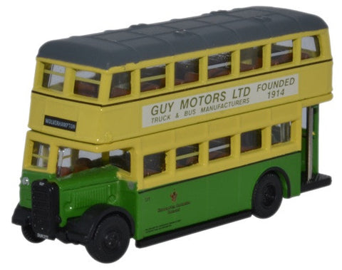 Oxford Diecast Guy Arab Utility Wolverhampton - 1:148 Scale
