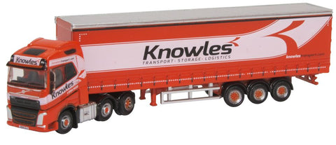 Oxford Diecast Volvo FH4 Curtainside Knowles