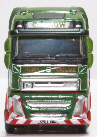 Oxford Diecast Volvo FH4 Semi Low Loader Cadzow
