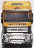 Oxford Diecast Volvo FH4 Semi Low Loader G F Job