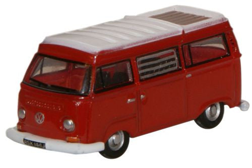 Oxford Diecast Senegal Red/White VW Camper - 1:148 Scale