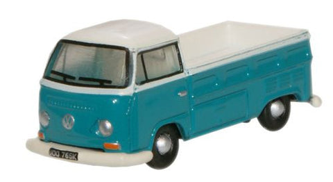 Oxford Diecast Emerald Green Arcona White VW Pick Up - 1:148 Scale