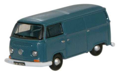 Oxford Diecast Regatta Blue VW Bay Window Van - 1:148 Scale
