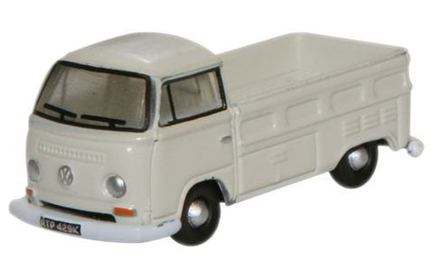 Oxford Diecast Pastel White VW Bay Windon Pick Up - 1:148 Scale