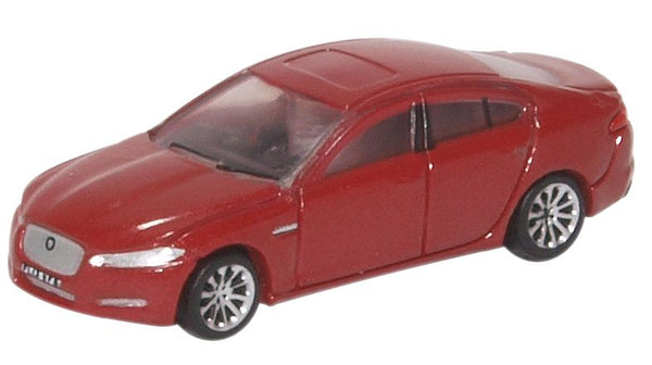 Oxford Diecast Jaguar XF Carnelian Red