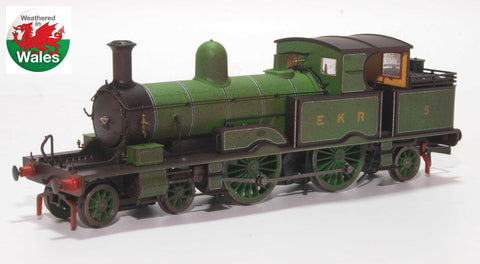 Oxford Rail Weathered East Kent Railway Adams Radial No. 5