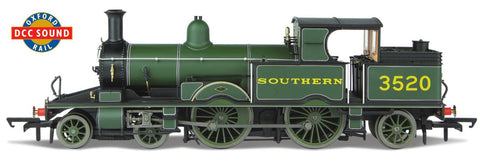 Oxford Rail Adams Southern - Maunsell Olive Green 3520 Dcc Sound