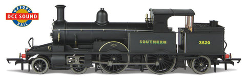 Oxford Rail Southern Late Sunshine Lettering 3520 Dcc Sound