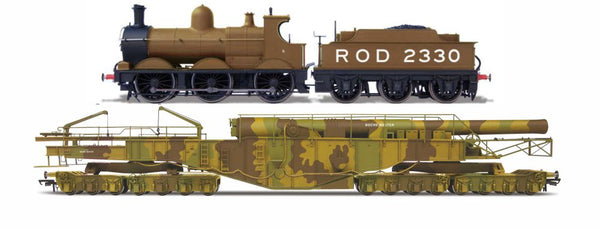 Oxford Rail WW1 Boche Buster - Camouflage And Rod 2330 Dcc Sound
