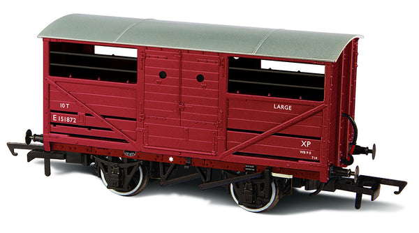 Oxford Rail BR Cattle Wagon E151872