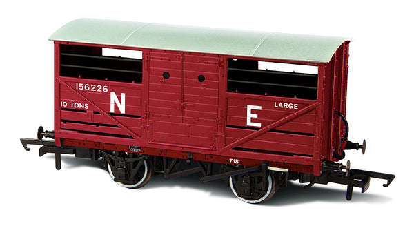 Oxford Rail LNER Cattle Wagon E156266