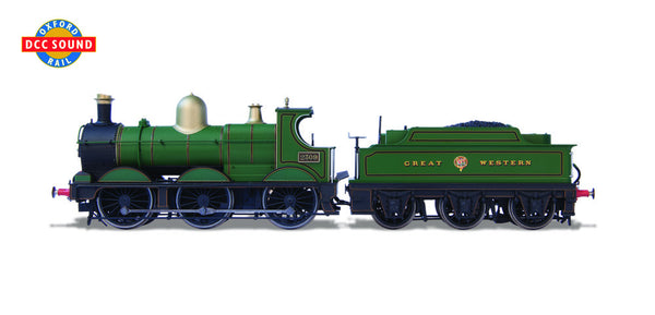 Oxford Rail 2309 Deans Goods GWR Lined DCC Sound