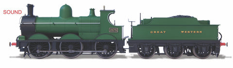 Oxford Rail 2475 Deans Goods Unlined DCC Sound