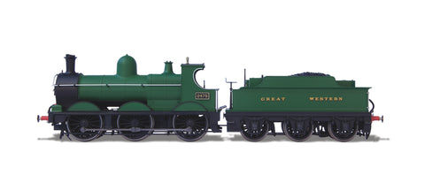 Oxford Rail Deans Goods 2475 Plain GWR