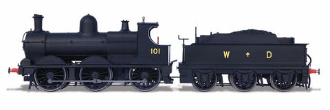 Oxford Rail Dean Goods War Department No101 DCC Sound Fitted
